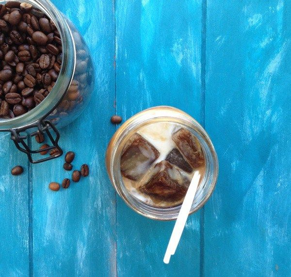 Iced Coconut Milk Latte Recipe