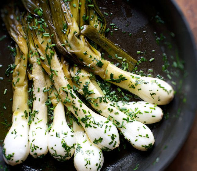 Onion flavor is layered in this dish: The greens have a brightness to balance…