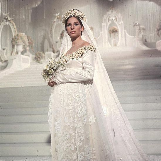 """""""Funny Girl"""" (1968) Fanny Brice (Barbara Streisand) - Beautiful Bride (I love this movie, I watched it today. -L)"""