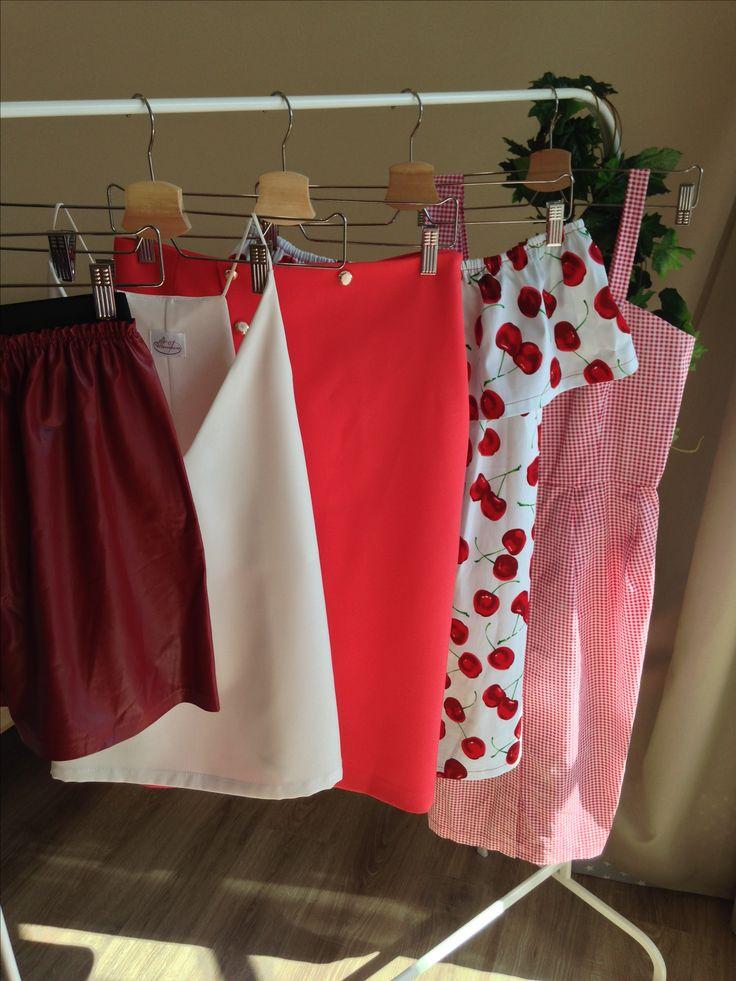 #Skirt #blouse #dress