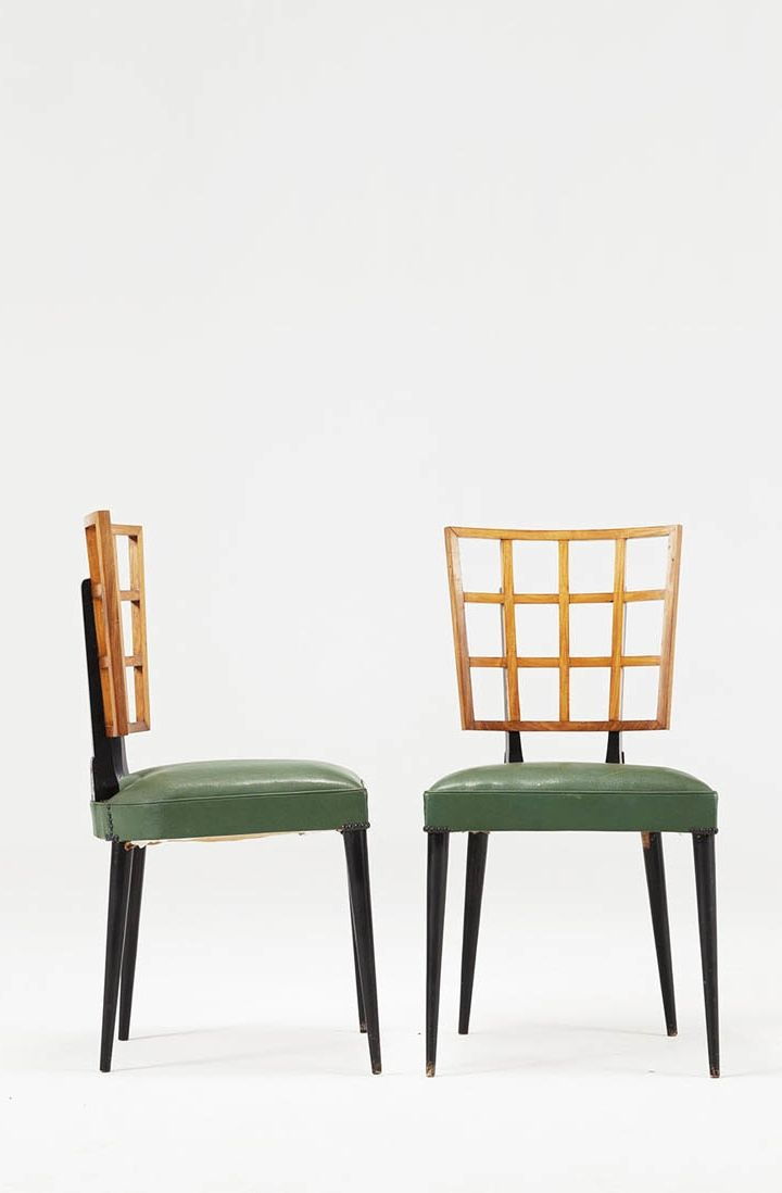 Giuseppe Scapinelli Attributed; Side Chairs, 1950s. 60s FurnitureFurniture  StylesFurniture DesignModern Dining Room ... Part 65