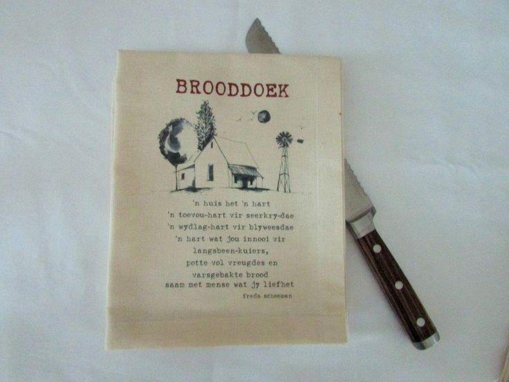 Freda Schoeman Brooddoek – 'n huis het 'n hart | afrikana