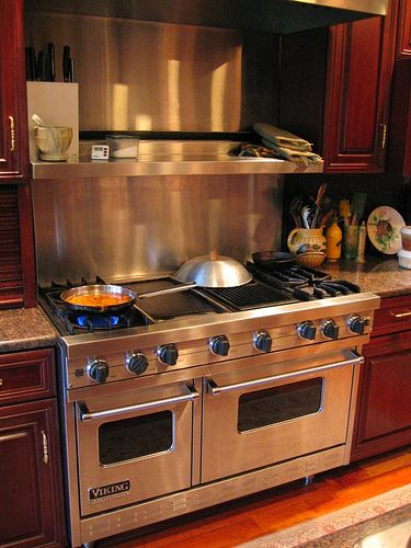 Viking stove   Double door   Viking griddle