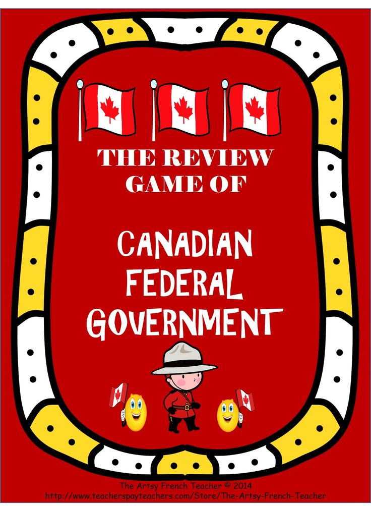 This Review Game of the Canadian Federal Government includes 36 questions and…