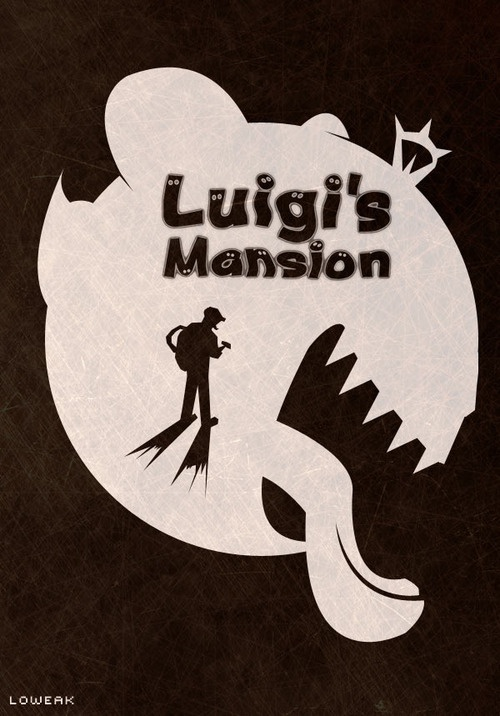 #LuigisMansion Poster (i'll make a #Speedrun of this game soon on…
