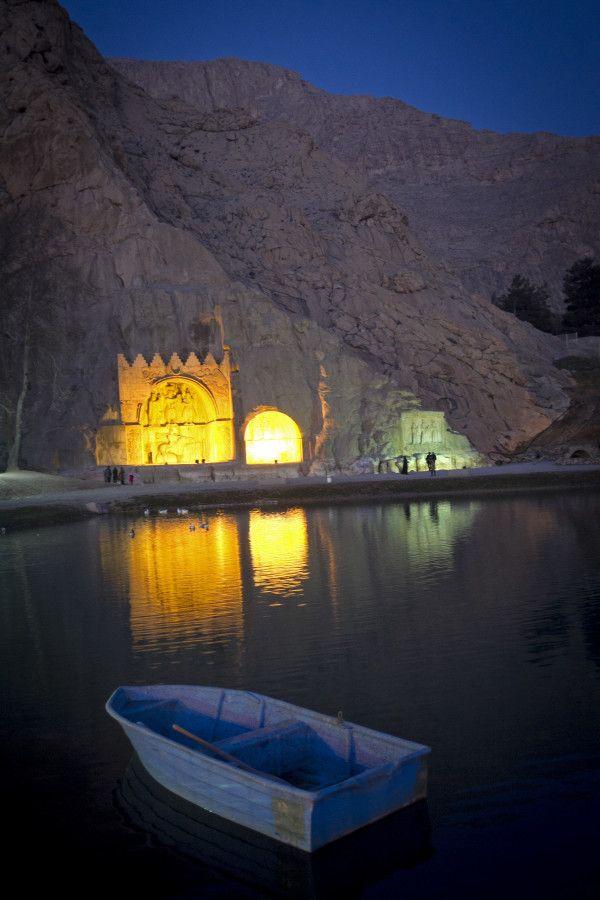Taqe Bostan in the ancient city of Kermanshah