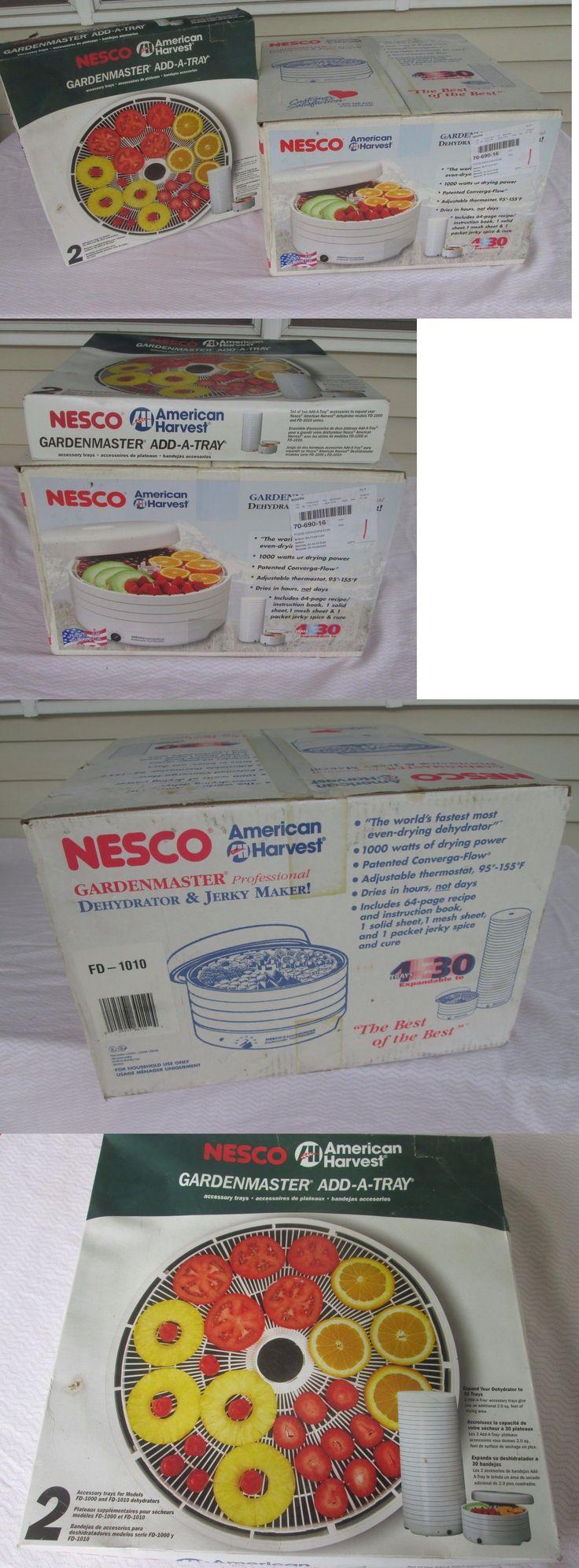 Food Dehydrators 32883: Nesco American Harvest Food Dehydrator Model Fd-1010 Plus Bonus -> BUY IT NOW ONLY: $73.99 on eBay!