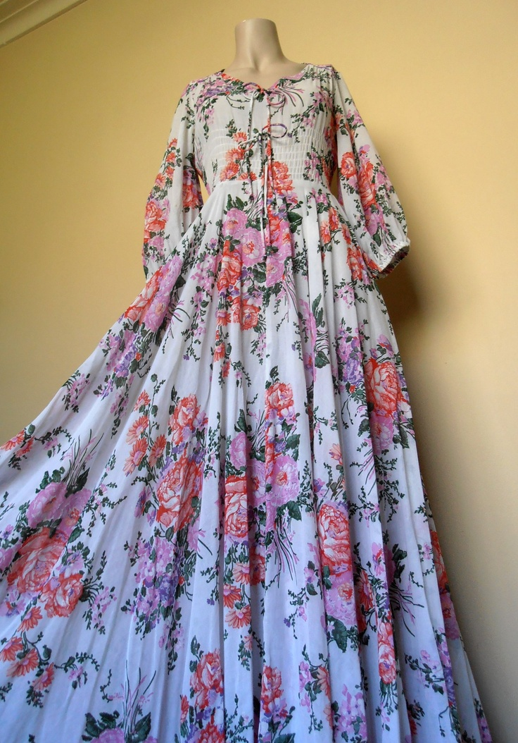 """My favourite Merivale """"Merivale Hemmes"""" Australia dress. I considered selling it on Etsy last week for a whopping great price, but now I feel no amount of money is enough to replace the love I have for this sweet girl."""