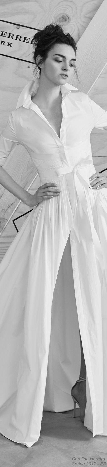 Carolina Herrera Spring 2017 Bridal Collection – EE – #bridal #Carolina #collec…