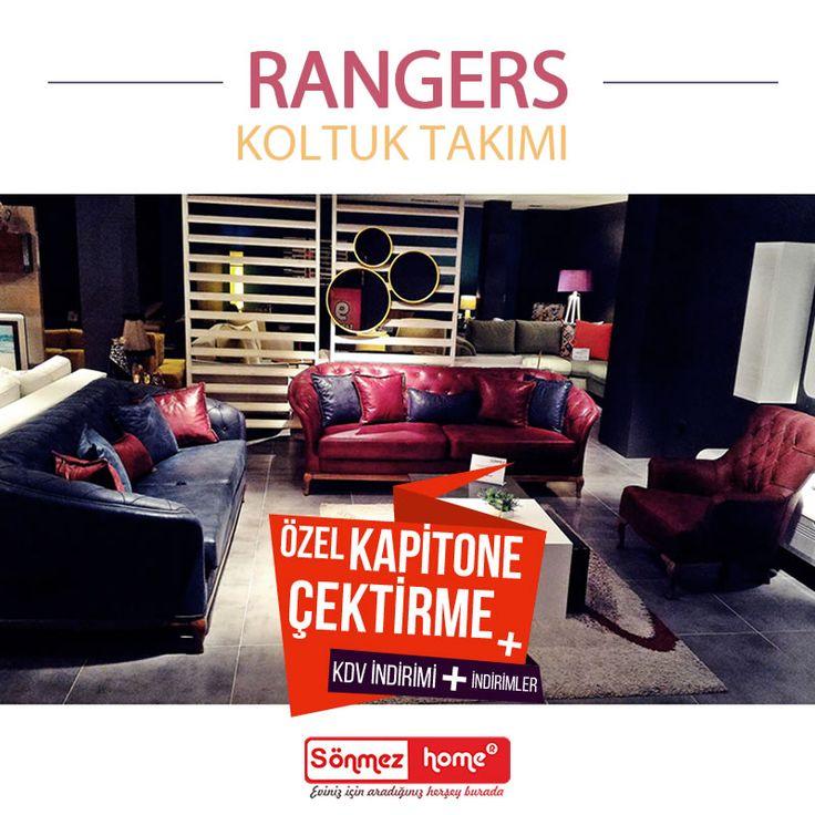 Rangers Modern Koltuk Takımı yalın güzelliğini yaşam alanlarınıza sunuyor.. #Modern #Furniture #Mobilya #Rangers #Koltuk #Takımı #Sönmez #Home