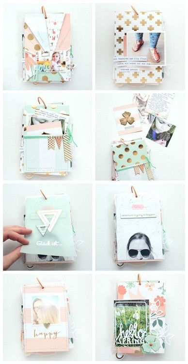 "Mini Album ""Our First Days Of Spring 2015"" by SteffiandAnni at Studio Calico"