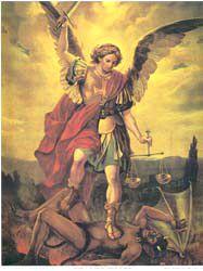 Nagyon kedves bátyánk Szent Mihály arkangyal. Egyszer talán Jézust és őt is megölelhetem szépséges királyőnkkel együtt.