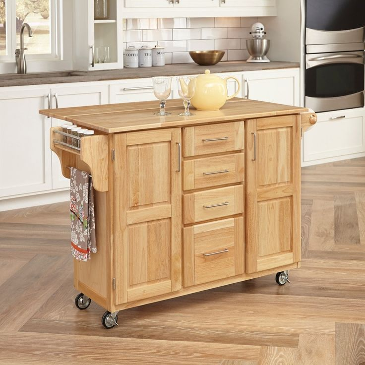 Best Copper Grove Puff Island Breakfast Bar Kitchen Cart With 640 x 480