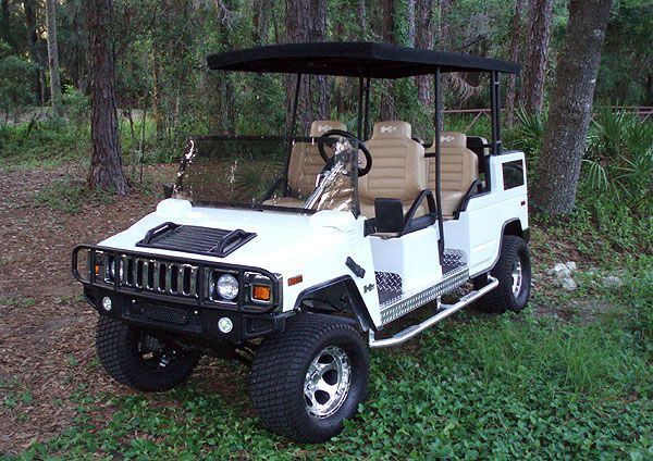 H2 HUMMER Golf Cart Photo- awesome