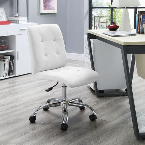 Modway Modern Prim Mid Back Adjustable Computer Office Chair