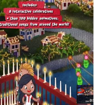 What a cool new Christmas app - takes kids on a trip around the world to teach them how other cultures celebrate. Complete with music and stories from each country and my kids love finding all the hidden animations (over 100 in all).  *sponsored