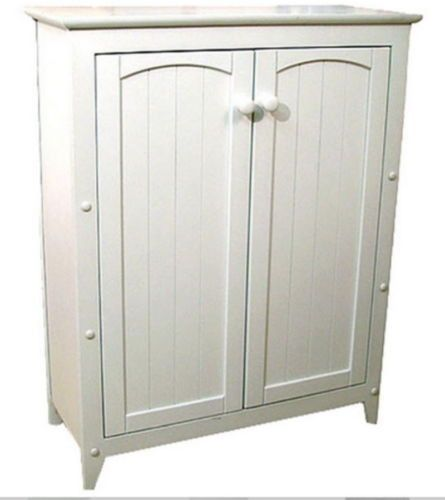 Traditional Two Door Cabinet With 3 Shelves Home Office