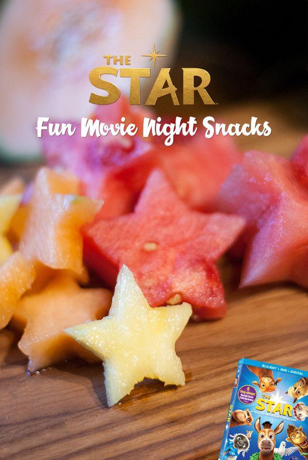 Fun movie night snack ideas! #TheStarMovie