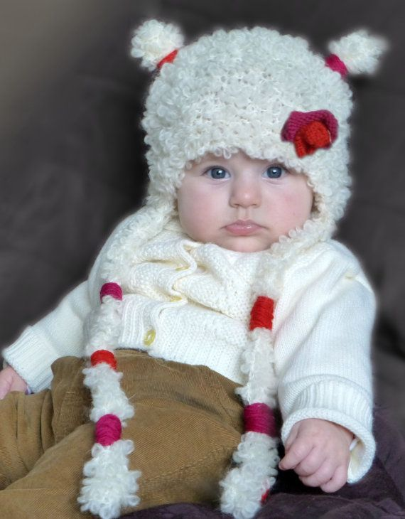 Baby Girl Hats Knit Baby Girl Hats Baby Hat by PrettyBagsByMia, $26.90
