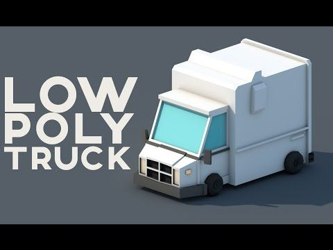 Low Poly Truck | Cinema 4D Speed Modeling - YouTube