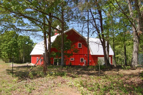 The Barn House - traditional - exterior - Bynum Architecture LLC