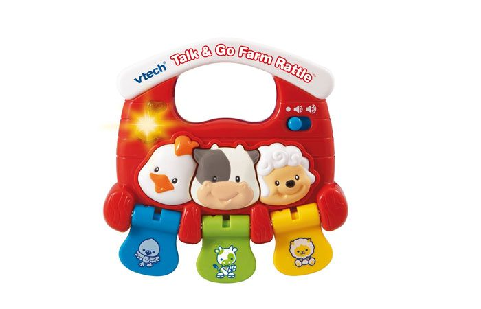 Vtech Baby Talk And Go Farm Rattle 05