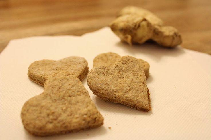 Colazione per tutti: Biscotti allo zenzero... vegani e antiinfiammatori