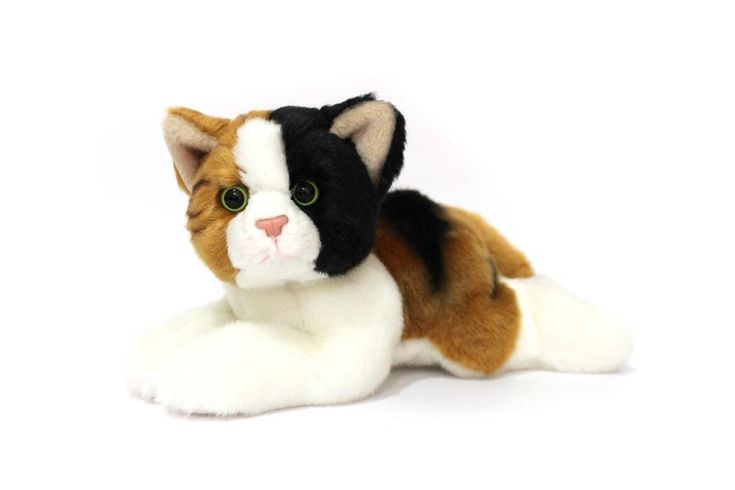 CUDDLY CRITTERS SOFT PLUSH CALICO CAT CHLOE I COOL CAT COLLECTABLES