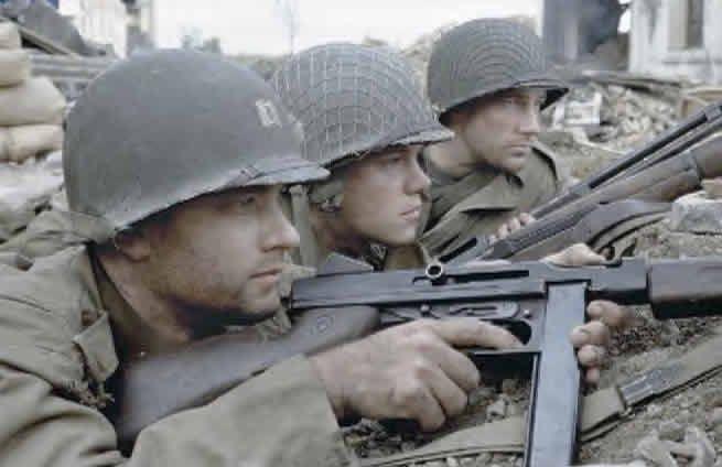 Photos du filmIl faut sauver le soldat Ryan Saving Private Ryan  Débarquement sur Omaha Beach Bataille de Normandie Tournage du film  Retour a