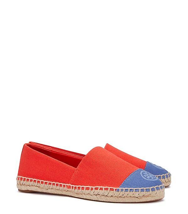 A Pair Slip In Yellow, Schuhe, Flache Schuhe, Espadrilles, Grau, Orange, Female, 36