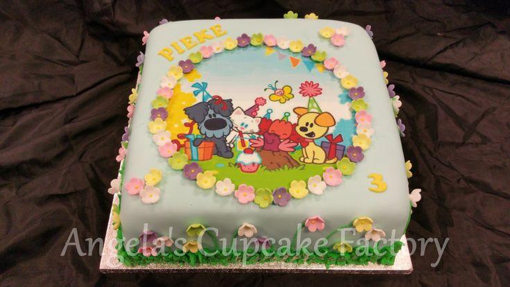 Woezel en Pip taart voor de 3e verjaardag van Pieke!