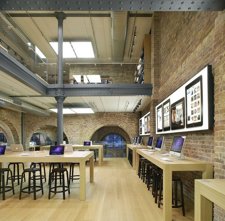 Apple Store in Covent Garden, London by Bohlin Cywinski Jackson Architects