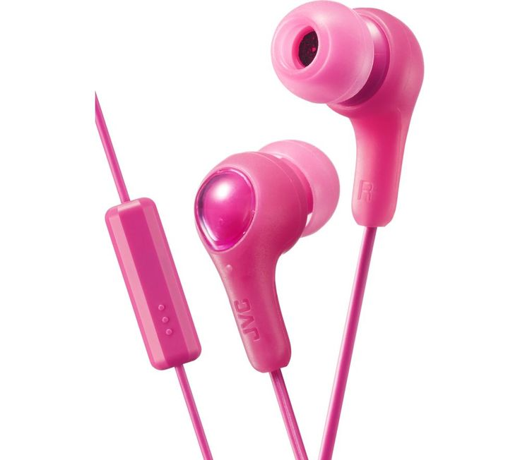 Buy JVC HA-FX7M-P-E Headphones - Pink, Pink Price: £9.99 Top features:- Manage music and phone calls with a one button remote - Block out unwanted background noise with noise isolating headphones - Wear in comfort thanks to a soft elastomer material - Enjoy great sound reproduction through 9mm neodymium drivers Manage music and phone callsJVC JVC HA-FX7M-P-E Headphones have a built-in remote...