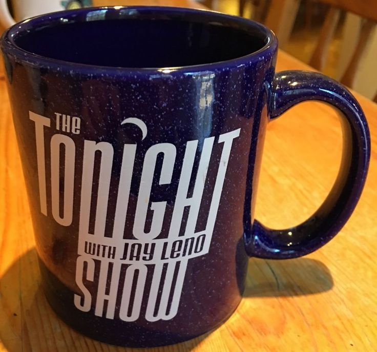 Vintage The Tonight Show With Jay Leno Guest One Coffee Or Tea Mug M Ware   | eBay