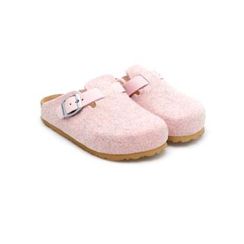 Pink Felt Bio Slipper (Girls' Slipper) - Footwear - Bedroom - Netherlands
