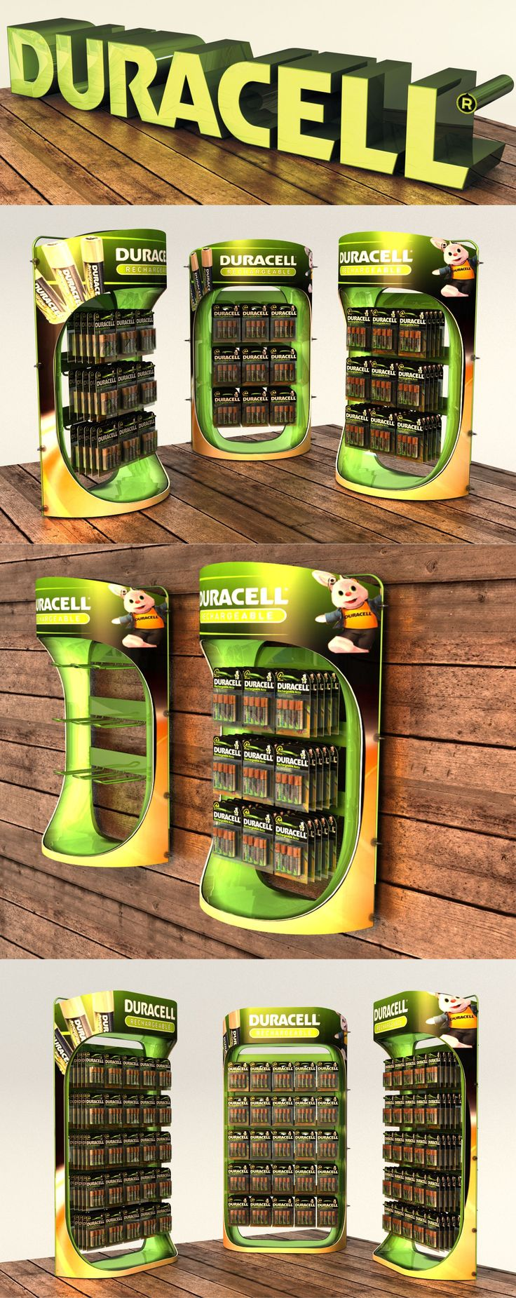 Duracell CTU, POS, POP. Point of sale. Point of purchase. By Lance Eggersglusz