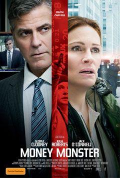 Money Monster: El mundo de la macroeconomía y el de los medios de comunicación manipulando y aprovechándose de las personas normales, ésta es la reflexión que nos hace esta magnífica película dirigida por Jodie Foster y protagonizada por George Clooney y Julia Roberts entre otros excelentes actores.