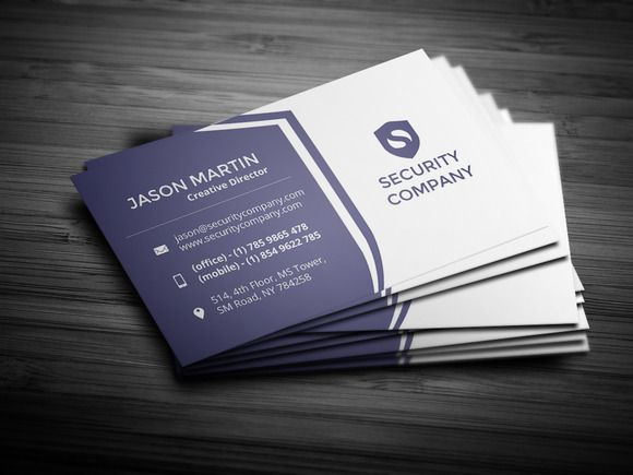check out security company business card by bouncy on creative market