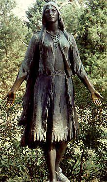 Pocahontas Statue, Jamestown: