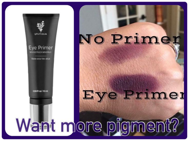 Eye primer is a must!   Www.YouniqueProducts.com/CrystalRowe