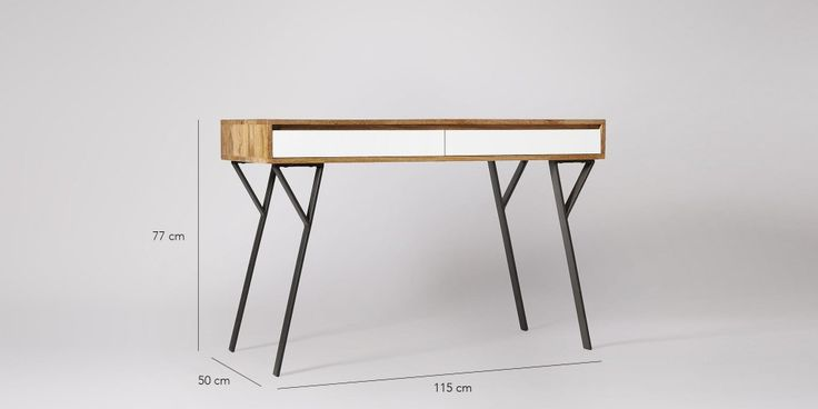 Mickey Mango Wood Desk | Swoon Editions