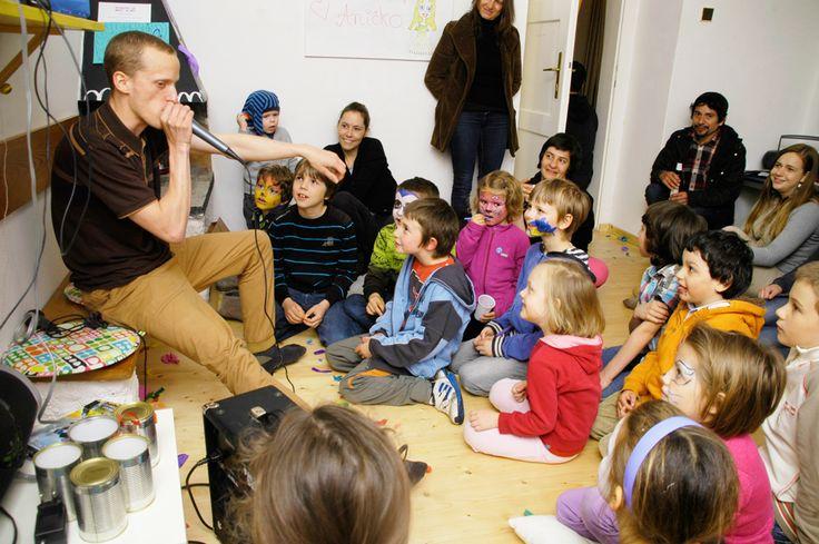 Beatboxový workshop s Janem Varmužou