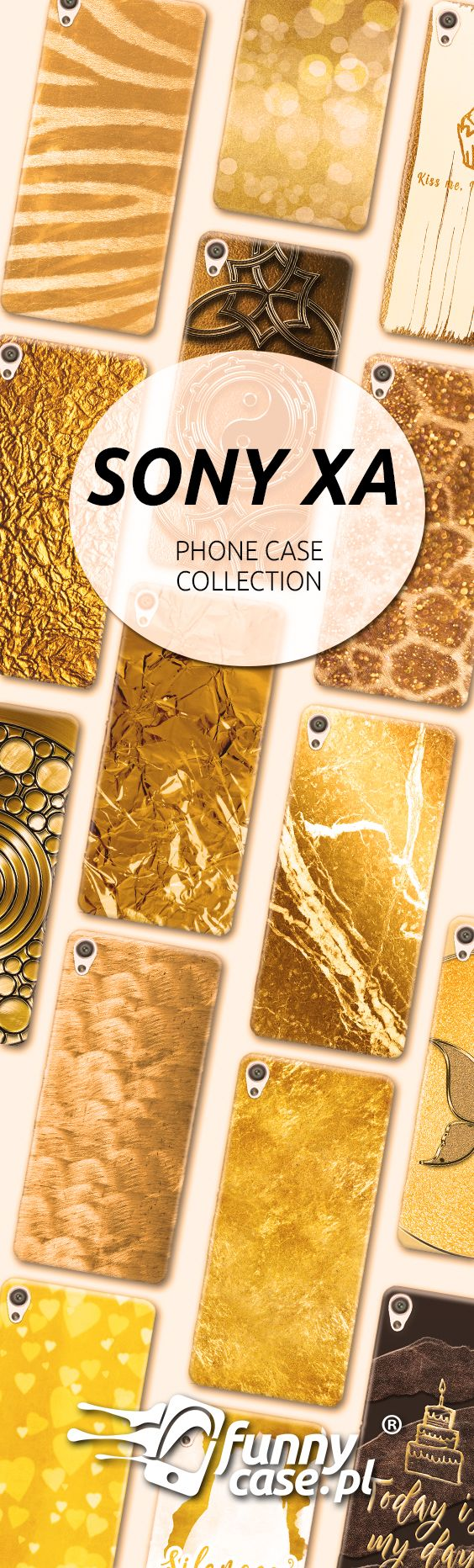 #sonyxa #sony #phonecase #gold #goldcollectwion #etui #cover