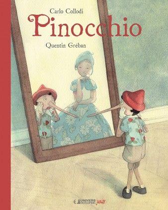 Pinocchio- Carol Collodi, Quentin Greban; Varsta: 5-8 ani; Fiul lui Gepetto, Pinocchio, zamislit dintr-o bucata de lemn nu isi doreste altceva decat sa devina un baietel adevarat. Ilustratiile expresive si jocul de cuvinte, ni-l prezinta pe baietel, comportamentele acestuia si visul ce incearca sa si-l indeplineasca.