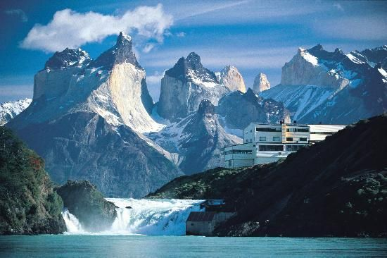 Hotel Salto Chico in Patagonia, Chile. I reallllllllllllly want to go here!