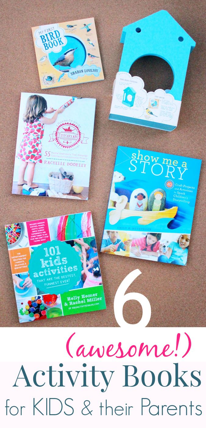 Some awesome new (and newish) activity books for families... So many ideas in these! I think I'll just plan our summer around the activities in these books!
