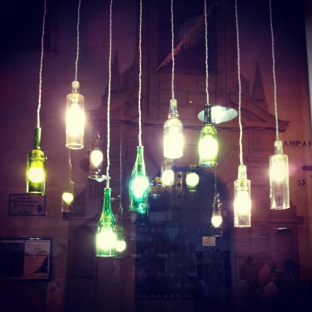 Terminado! #lamparas de Saudade listas para la venta #shopping #sevilla #lights #decoracion #recycled