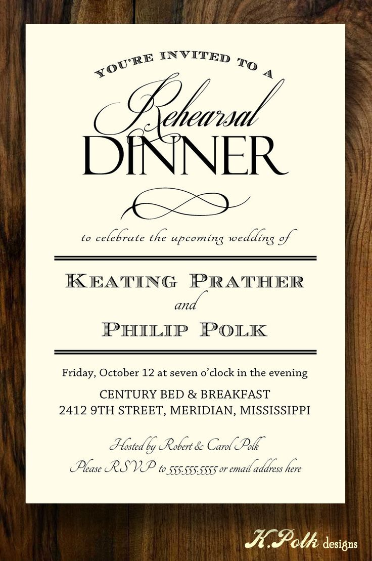 42 Best Rehearsal Dinner Invites Images On Pinterest Invites