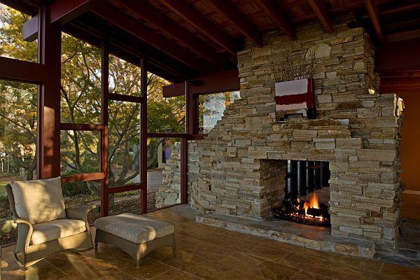 Fireplace design ideas 19