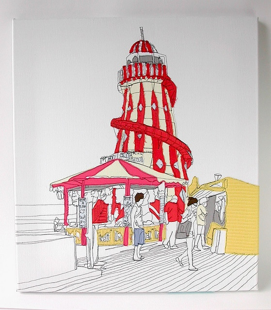 Gillian Bates - applique & freehand machine embroidery http://www.etsy.com/shop/gillianbates